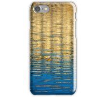 Arno Reflection   Blue & Gold iPhone Case/Skin