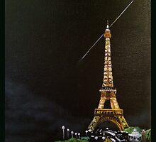 Eiffel Tower by KathleenEKelly