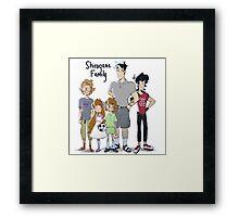 Voltron Family Print-Shirogane Family Framed Print