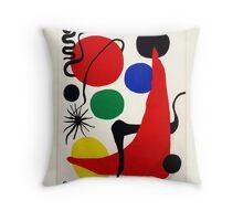"""Alexander Calder, """"Green Ball"""" Throw Pillow"""