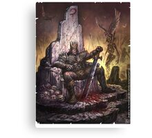 Orc King Drudge from Shadow of the Demon Lord Canvas Print