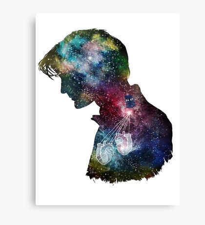 Dr. Who Galaxy Canvas Print