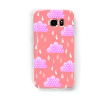 Rain Clouds (Pink) Samsung Galaxy Case/Skin