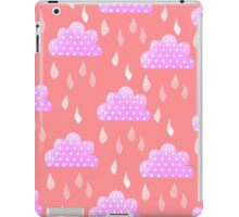 Rain Clouds (Pink) iPad Case/Skin