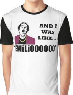 A Night At The Roxbury I Was Like Emilio Movie SNL  Graphic T-Shirt