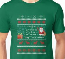 Funny Pi Math Equation Christmas Sweater Teacher Unisex T-Shirt