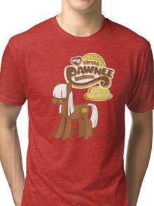 My Little Pawnee Tri-blend T-Shirt
