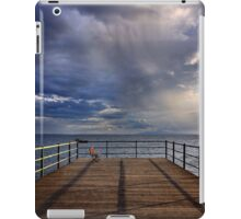 Waiting for the storm iPad Case/Skin