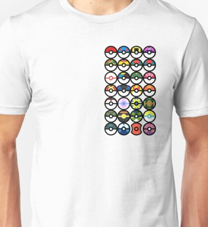 Pokémon - Pokeballs Unisex T-Shirt