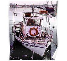 Greek Islands - fishing boat Poster