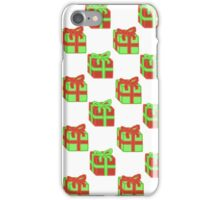 Tiled Christmas Presents iPhone Case/Skin
