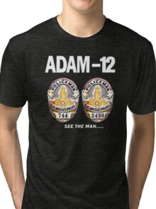 Adam-12 TV Series 70's Retro Tri-blend T-Shirt