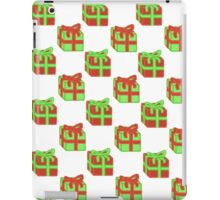 Tiled Christmas Presents iPad Case/Skin