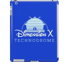 The Happiest Place in Dimension X iPad Case/Skin