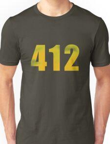 Vintage 412 (Pittsburgh Area Code) Unisex T-Shirt