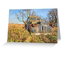 The Old Pickup 2 Greeting Card