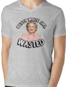 Betty White girl wasted Mens V-Neck T-Shirt