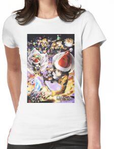 Shingeki No Kyojin Christmas !❅ Womens Fitted T-Shirt