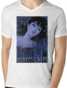 Perfect Blue - Pafekuto buru Mens V-Neck T-Shirt