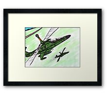 Sparrows to the Front Framed Print