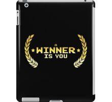 Festive Winner iPad Case/Skin