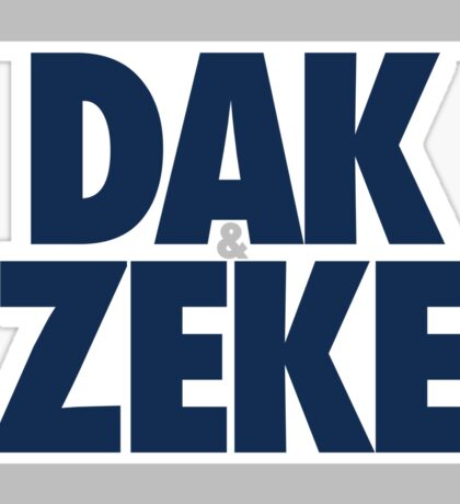 Dak & Zeke (BLUE) Sticker