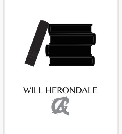 Shadowhunters The Infernal Devices Will Herondale Sticker
