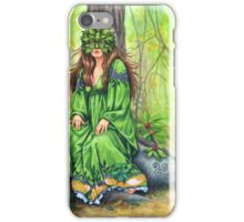 Greenlady iPhone Case/Skin