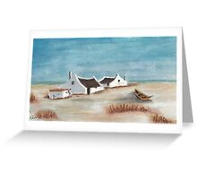 "My Pastel ""Cape Cottages""... South Africa Greeting Card"