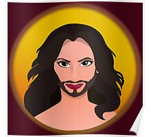 Conchita - Queen of Europe Poster