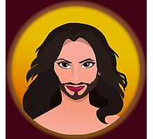 Conchita - Queen of Europe Photographic Print