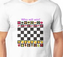 Who will win? Unisex T-Shirt