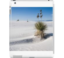 Soaptree yucca, White Sands New Mexico iPad Case/Skin