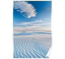 White Sands National Monument, New Mexico Poster