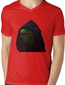 Dark Kermit Mens V-Neck T-Shirt