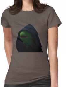 Dark Kermit Womens Fitted T-Shirt