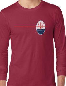 Maserati Design Long Sleeve T-Shirt