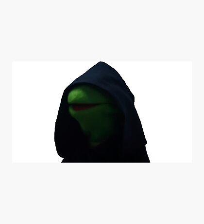 Dark Kermit Photographic Print