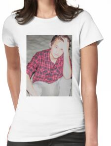 Justin Drew Blake Beach Womens Fitted T-Shirt