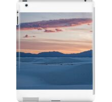 Sunset over White Sands National Monument, New Mexico iPad Case/Skin