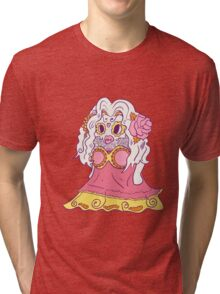 Jynx Popmuerto | Day of The Dead Mashup Tri-blend T-Shirt
