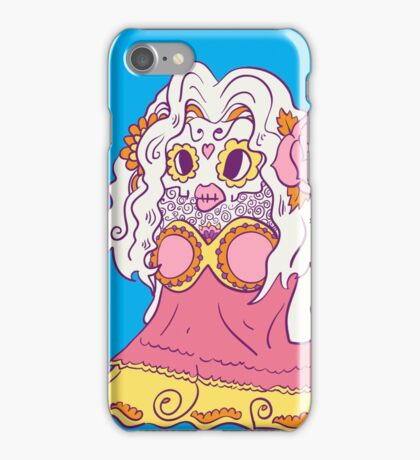Jynx Popmuerto | Day of The Dead Mashup iPhone Case/Skin
