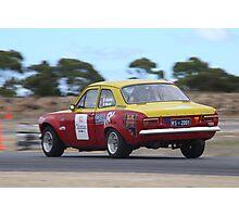 2014 Oz Gymkhana Round 1 - #02 Ford Escort Photographic Print