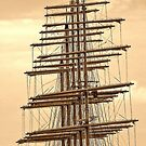 "5 masts of SY ""Royal Clipper"" by globeboater"