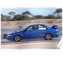 2014 Oz Gymkhana Round 1 - #32 Subaru WRX Poster