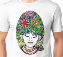 Floating in Thought [Patch] Unisex T-Shirt