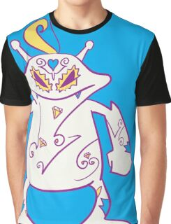Electabuzz Popmuerto | Pokemon & Day of The Dead Mashup Graphic T-Shirt