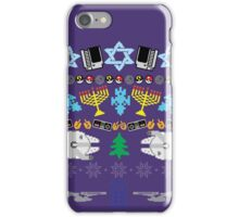 An Ugly 8 Bit Hanukkah iPhone Case/Skin