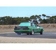 2014 Oz Gymkhana Round 1 - #05 Nissan Bluebird (3) Photographic Print