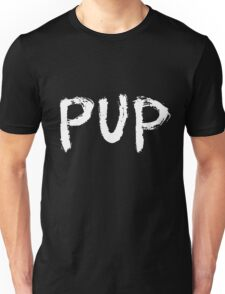 PUP Graffiti Logo White Unisex T-Shirt